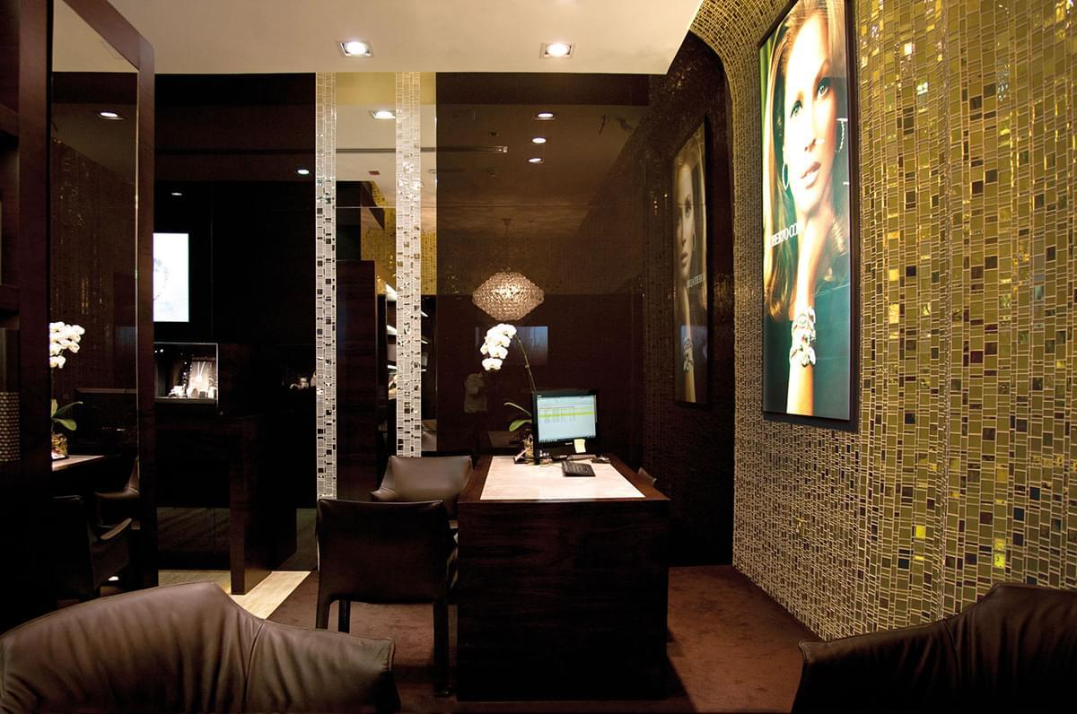 Trend Altın Cam Mozaik